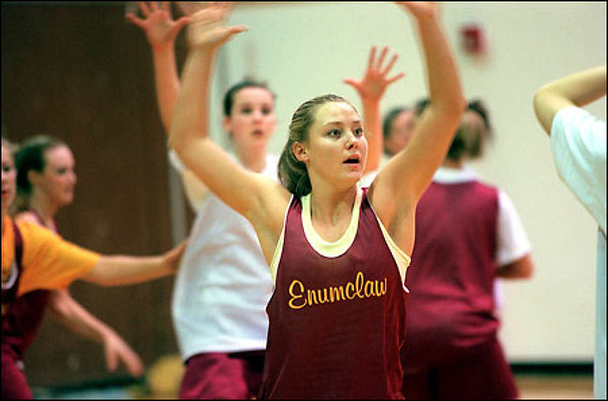 Enumclaw's leading scorer, junior forward Jenny Poe, keeps hearing about how good she'll be next year as a senior.