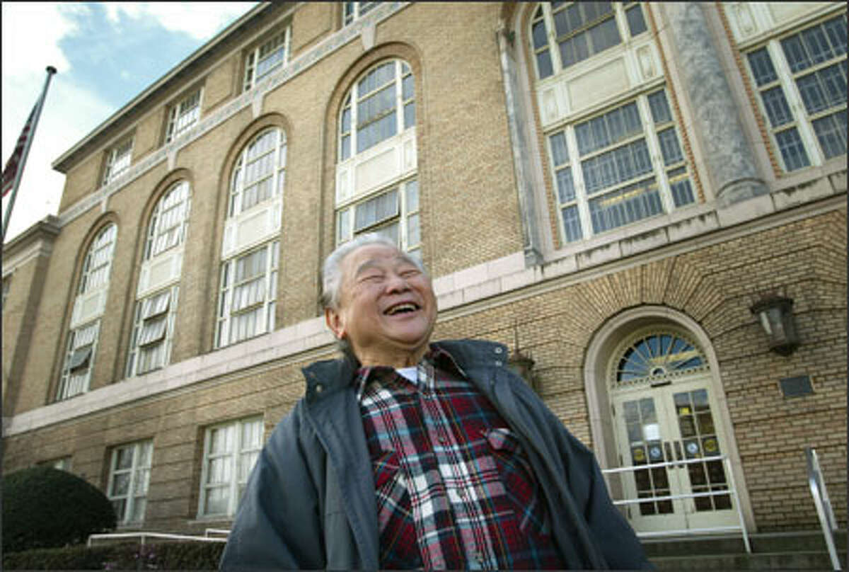 Hing Chinn, 75, lived for weeks in the federal immigration building as he waited to be reunited with his father when he emigrated from Hong Kong in 1939.