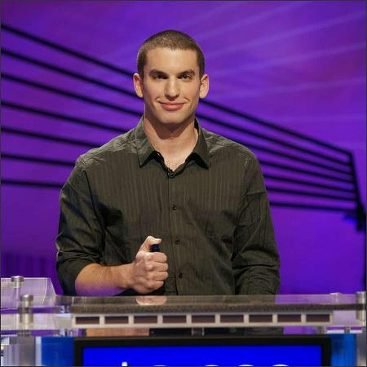 """Ben Bishop, """"Jeopardy"""" champion."""