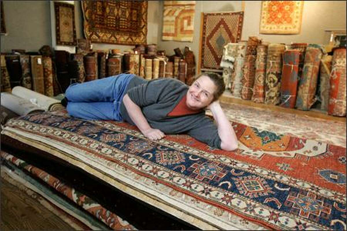 Thea Sand's great-grandfather opened Emmanuel's Rug & Upholstery Cleaners in downtown Seattle.