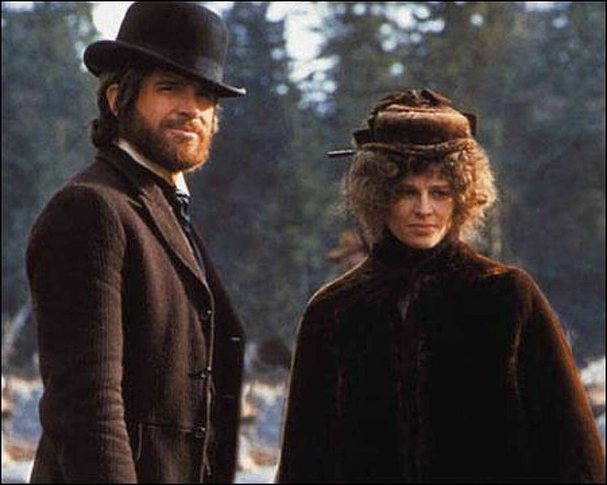 Warren Beatty and Julie Christie in Robert Altman's