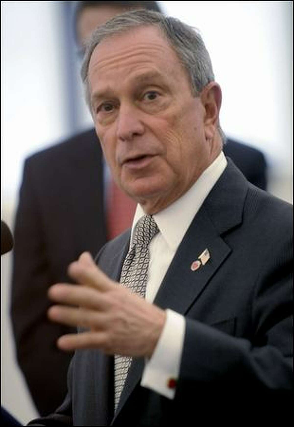 Ex-New York City Mayor Michael Bloomberg has already aired more than $130 million worth of TV ads.