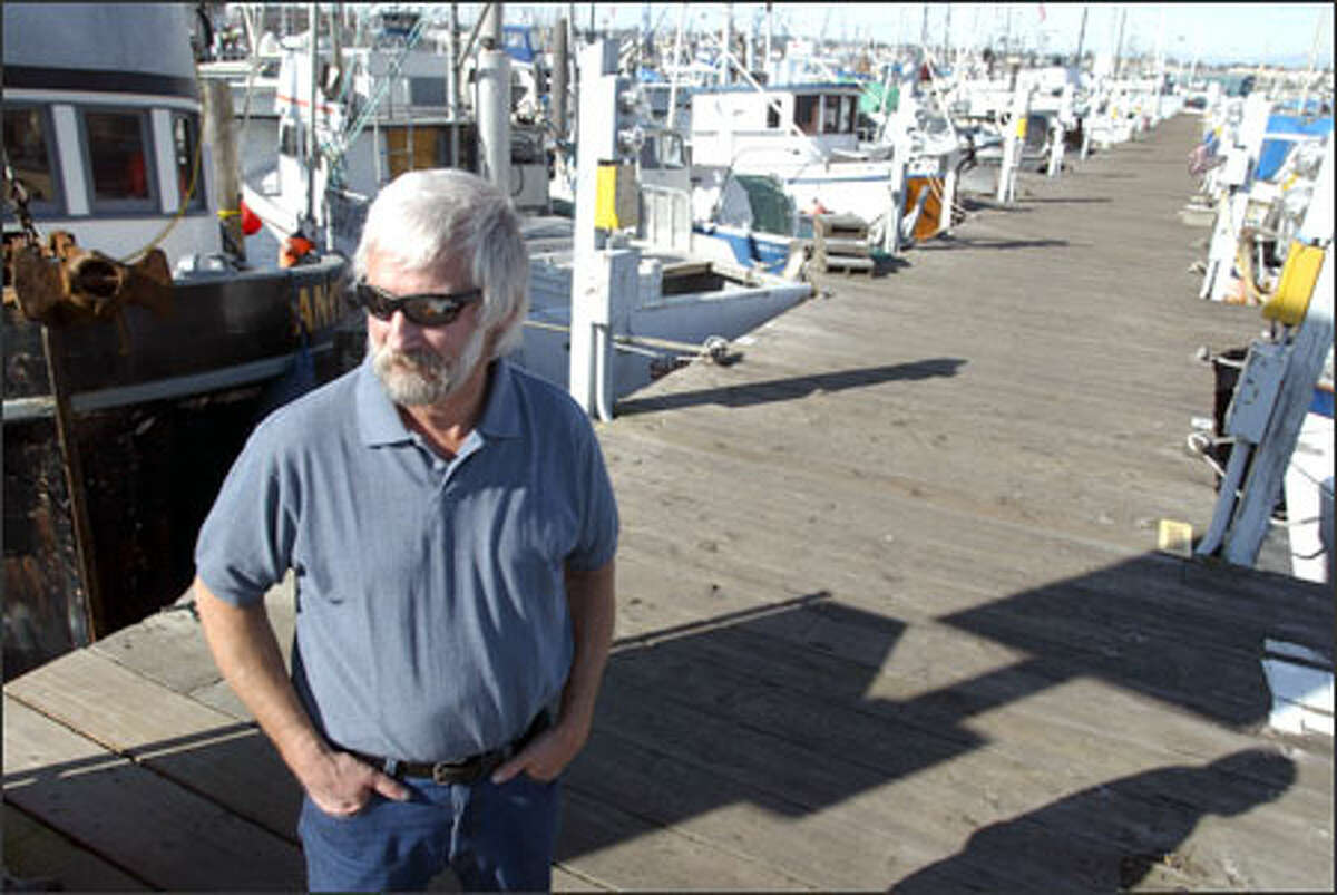 """""""These docks are a disaster,"""" said Paul Matson, 55, the skipper of the Anita, a 48-foot seiner moored at Dock 6, which will be eliminated as part of the reconstruction. """"They date back before most of us."""" There will be fewer slips on the new concrete piers, but they will be able to accommodate more large vessels."""