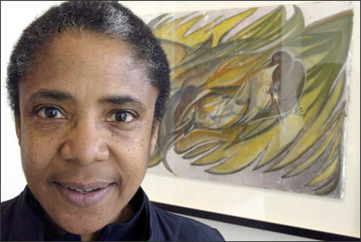 Barbara Thomas is one of 11 artists creating work for Sound Transit light rail stations. Their works are on display at the Columbia City Gallery.