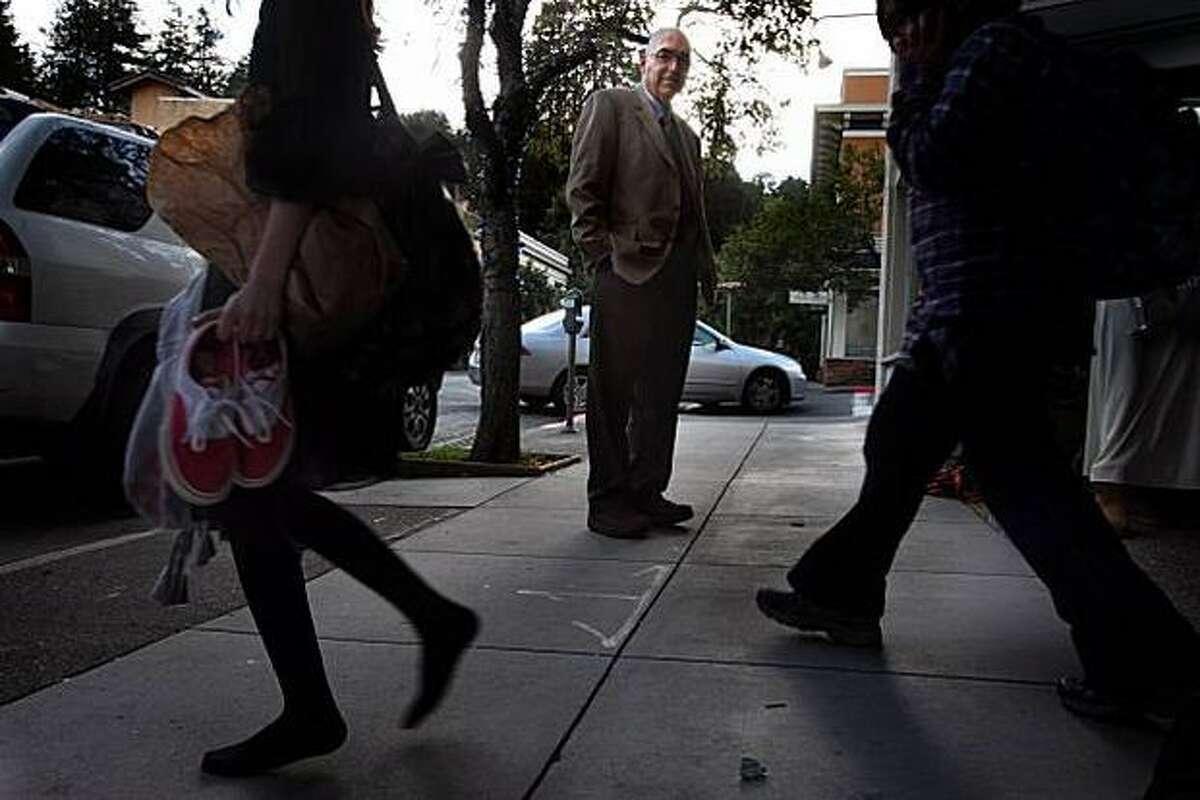 Dr. Howard Kornfeld, shown near his Mill Valley office in San Francisco, says many teens think of pharmaceuticals as safe. (Liz Hafalia/The San Francisco Chronicle)