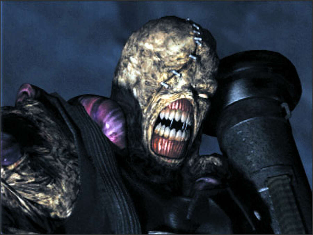 """The """"Resident Evil"""" series has inherent problems with the control and is glacially paced. Above, a scene from """"Resident Evil 3: Nemesis."""""""