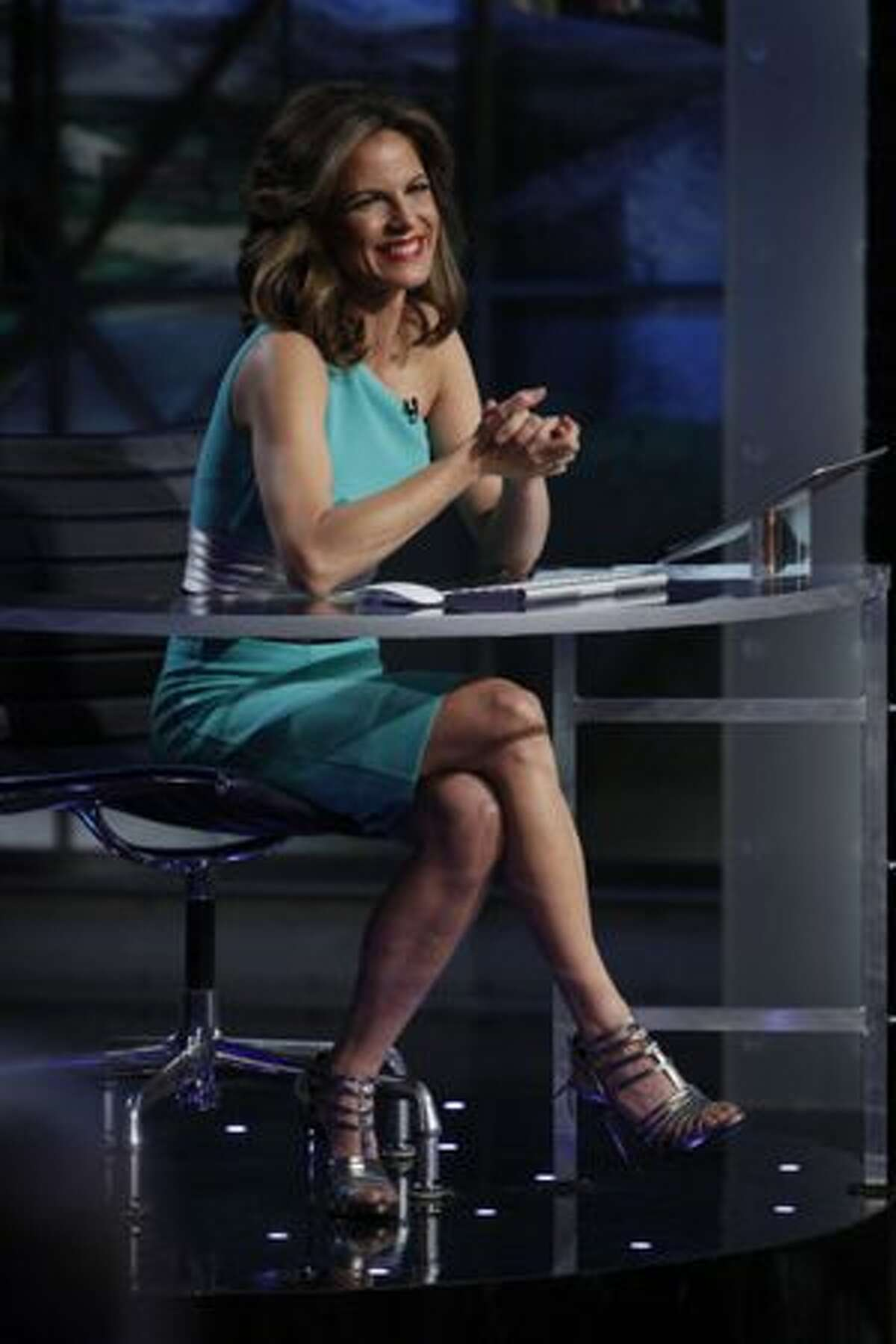 TV journalist Natalie Morales plays a key support role on NBC's