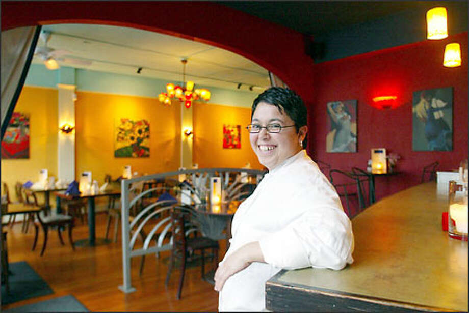 Gitano's executive chef Maritza Texeira offers mostly hits at her Madison Valley restaurant, reflecting on some artful interpretations coming out of Latin and South Americas. Photo: Mike Urban, Seattle Post-Intelligencer / Seattle Post-Intelligencer