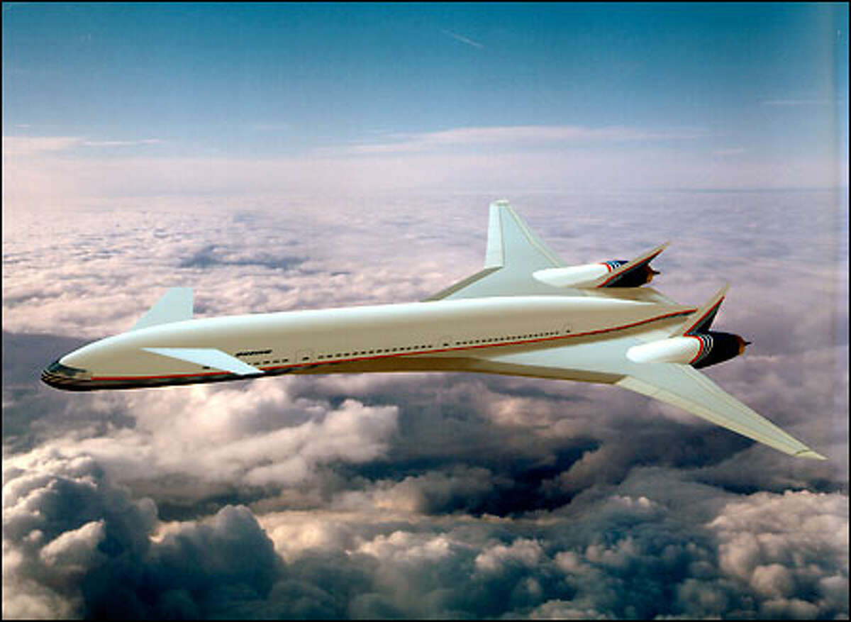 Boeing's Sonic Cruiser will be a superfast jetliner featuring a radical new design.