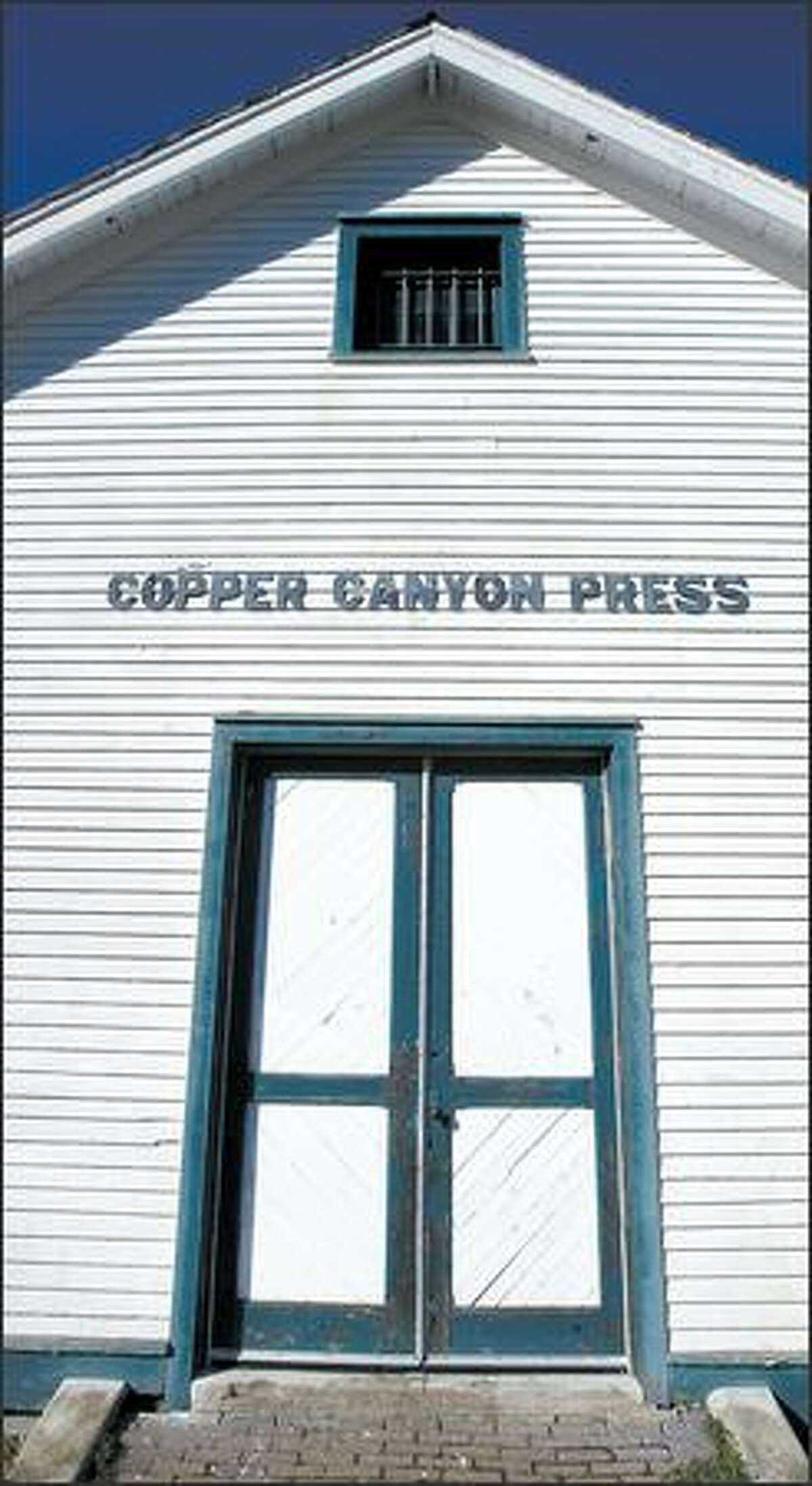 Copper Canyon Press in its historic building at Fort Worden State Park in Port Townsend.