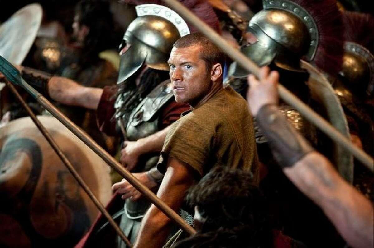 "Sam Worthington stars as Perseus in ""Clash of the Titans."""