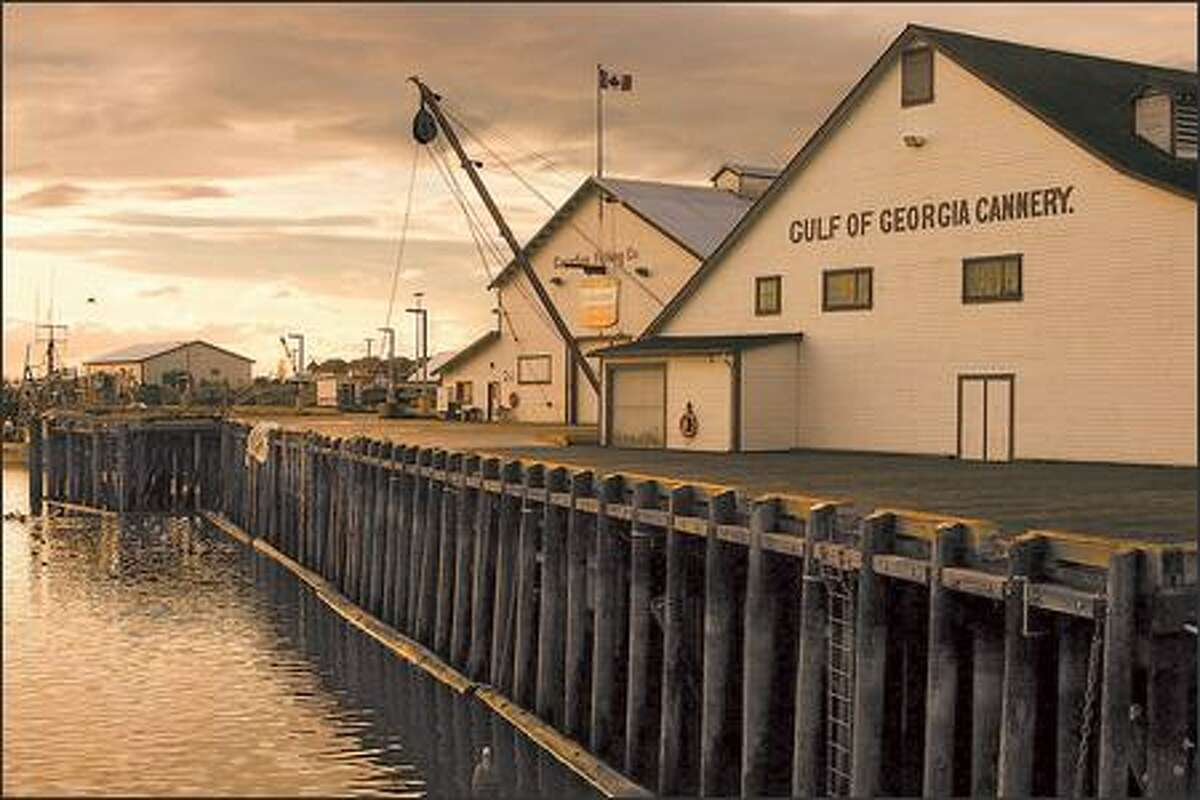 A museum now occupies the old Gulf of Georgia Cannery building.