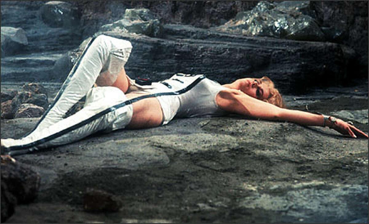 Jane Fonda, seen here in the 1967 sci-fi fantasy