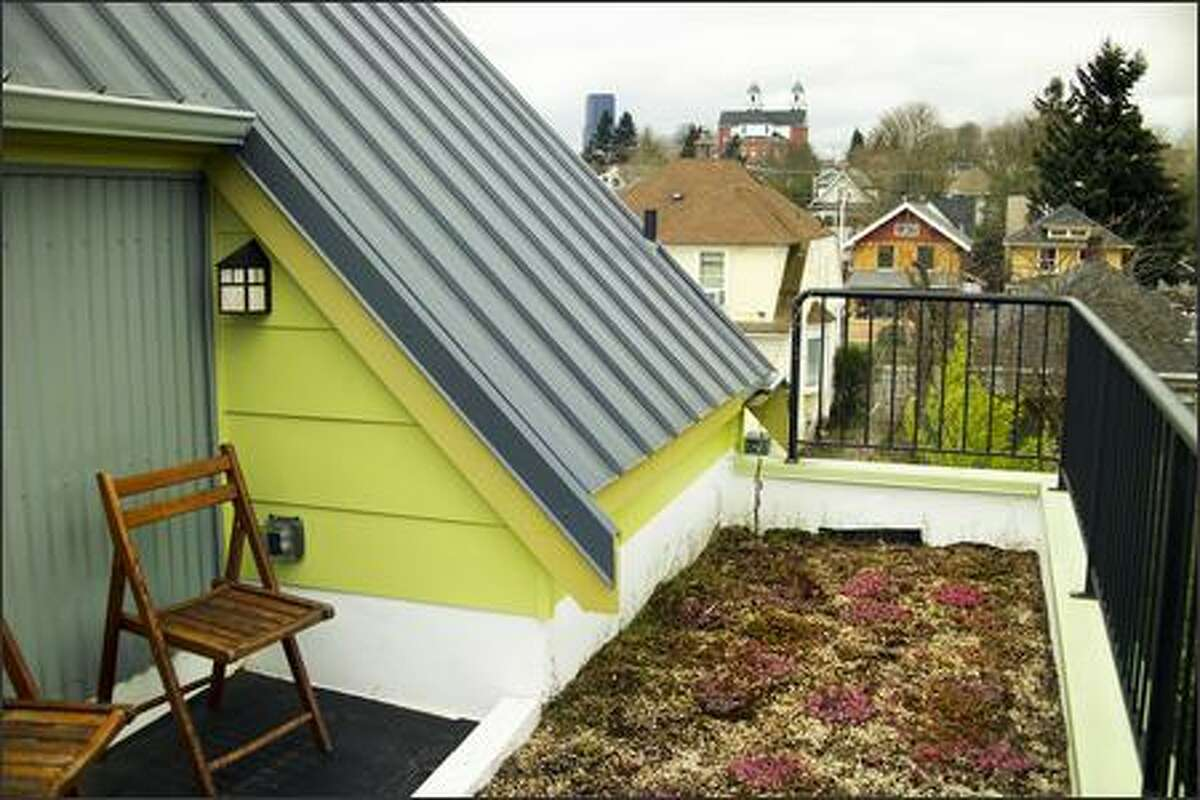 50-year metal roofs are a hallmark of Built Green homes.