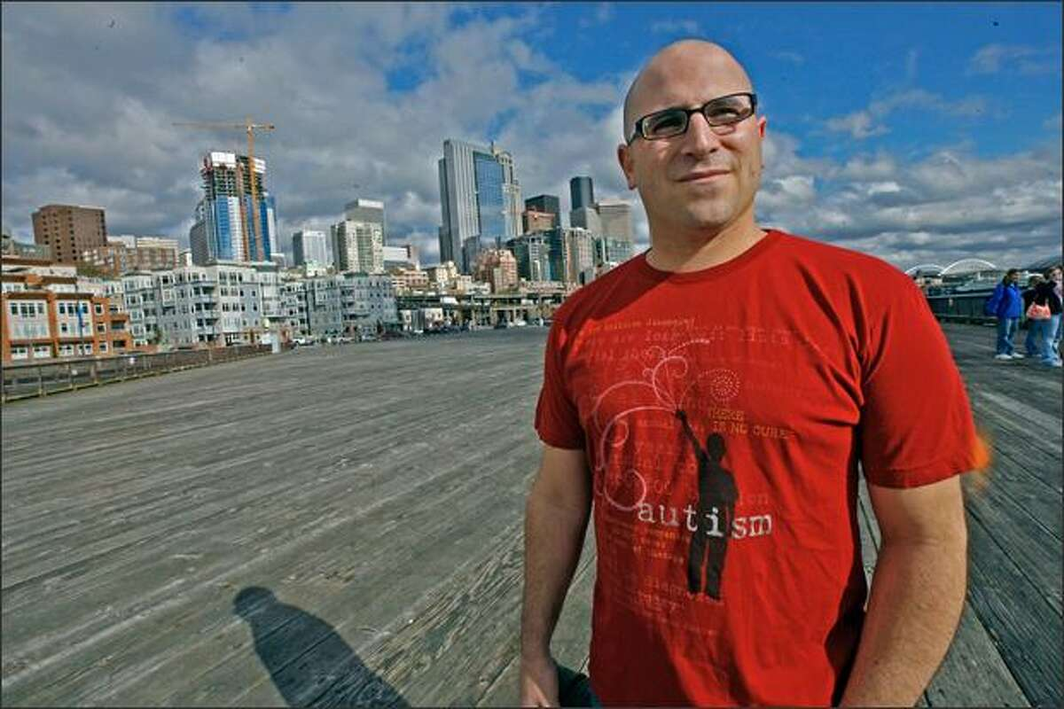 After Lee Fine was diagnosed with type 1 diabetes, he started a T-shirt company with his wife and three friends to help raise awareness about his disease and other causes. In honor of Autism Awareness Month, which is April, the Seattle-based Internet company last week launched the autism T-shirt Fine is wearing.