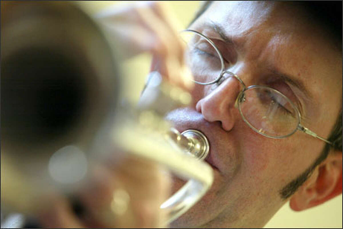 Trumpeter Vern Sielert, a UW assistant professor of jazz studies, will perform with others at the