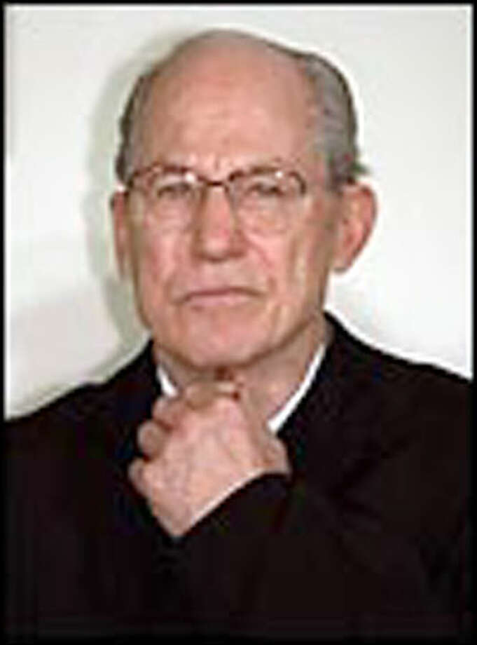 Supreme Court Justice Byron R. White, shown in this March 19, 1993 file photo in Washington, died Monday April 15,2002, in Denver. White served on the court for 31 years before retiring in 1993. In the court's history, only eight men served longer. His seat was filled by Justice Ruth Bader Ginsburg. He was 84. Photo: Associated Press / Associated Press
