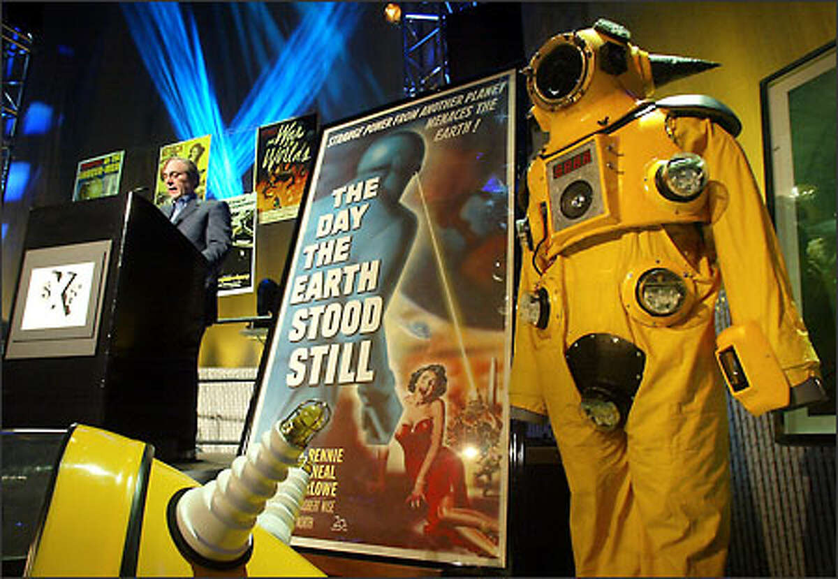 Science Fiction Experience, being constructed adjacent to EMP, will display sci-fi memorabilia, including