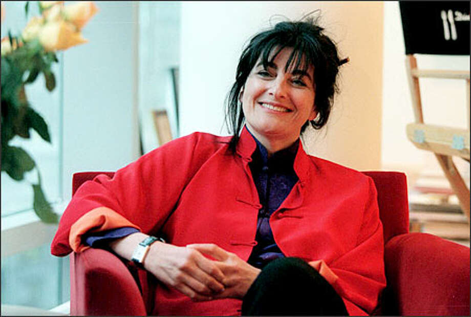 "Ruth Reichl, editor in chief of Gourmet magazine, is the author of the new book ""Garlic and Sapphires: The Secret Life of a Critic in Disguise."" Photo: New York Times / New York Times"