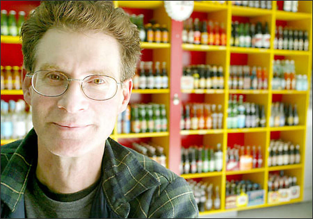 Chris Webb, co-owner of Real Soda, imports and distributes about 700 brands and flavors of carbonated drinks from around the world.