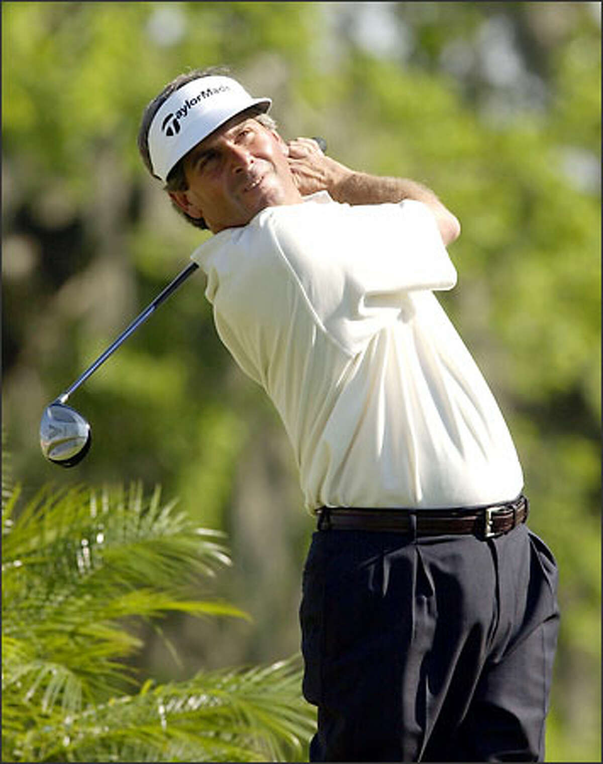 Fred Couples birdied four of the last five holes Sunday in the Shell Houston Open.