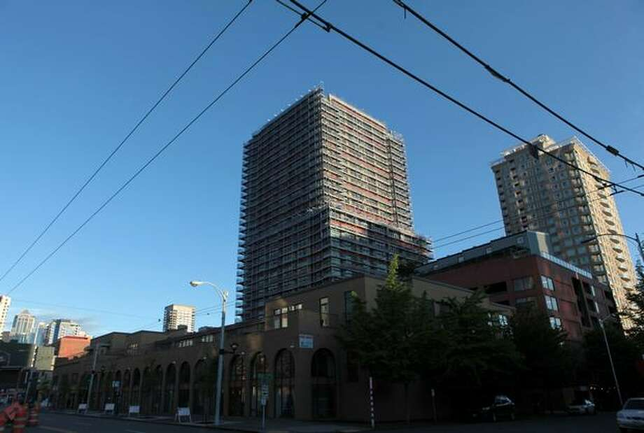 The McGuire Apartments building in Seattle's Belltown neighborhood. Photo: Joshua Trujillo, Seattlepi.com / seattlepi.com