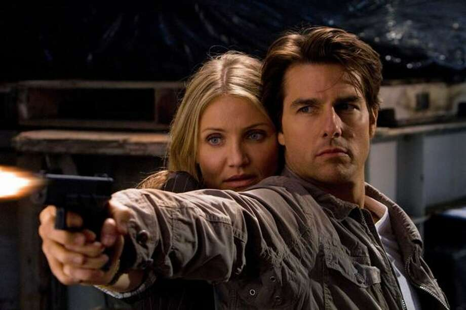 "Tom Cruise and Cameron Diaz star in the action-comedy-romance ""Knight and Day,"" opening June 25 in the U.S. Photo: Twentieth Century Fox / Twentieth Century Fox"