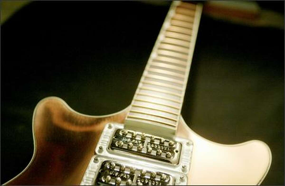 The guitar Parsons created for Jack White of the White Stripes and The Raconteurs.