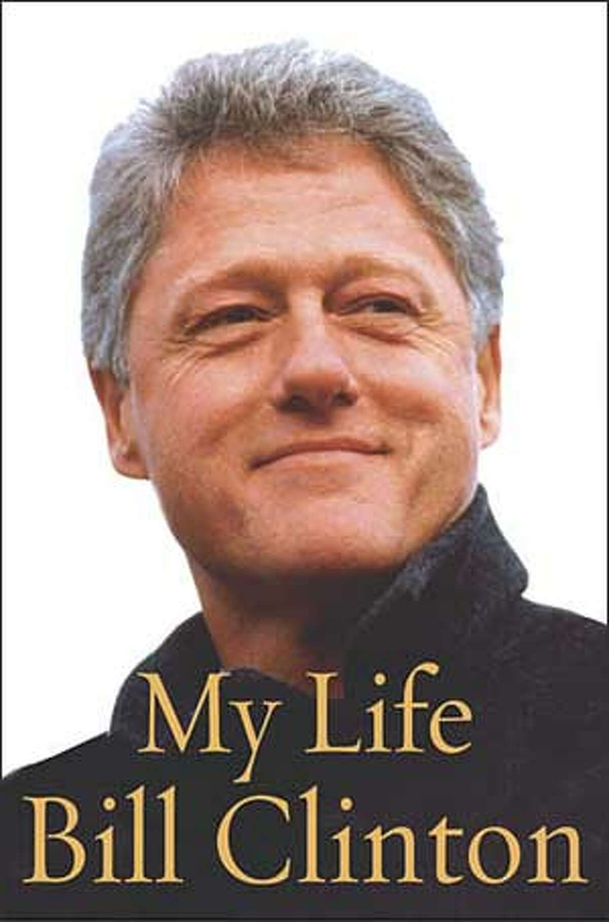 The cover of former President Bill Clinton's book
