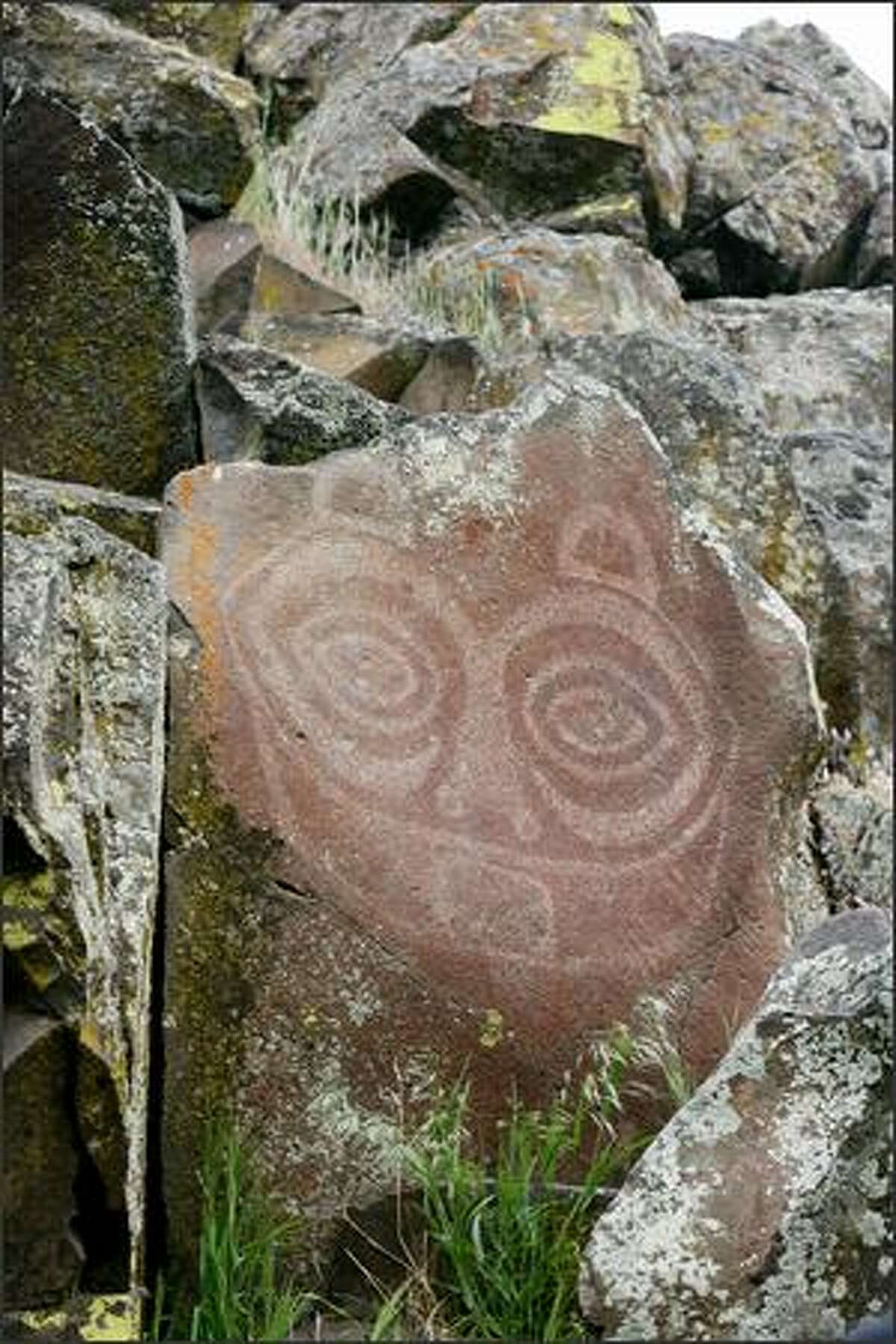 The haunting petroglyph/pictograph
