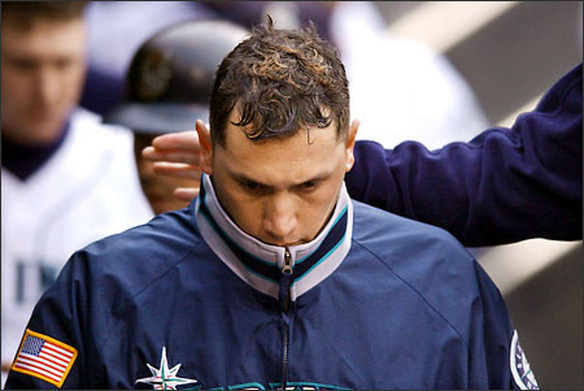 The Mariners don't have a lot to show for their $6.875 million annual investment in Freddy Garcia (3-6). On the other hand, Gil Meche ($325,000) has won six games as the No. 5 starter.
