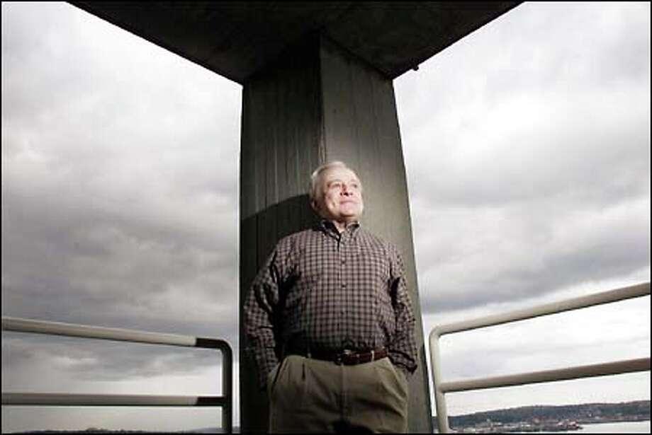 KIRO/7 pays tribute to genial weatherman Harry Wappler's 30-year Seattle career tonight at 10. Photo: Paul Kitagaki Jr., Seattle Post-Intelligencer / Seattle Post-Intelligencer