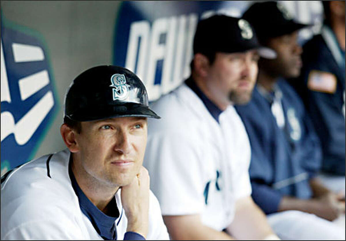 Mariners first baseman John Olerud, a .297 hitter with 239 homers entering this season, is batting .237 with two homers and nine RBIs in 2004.