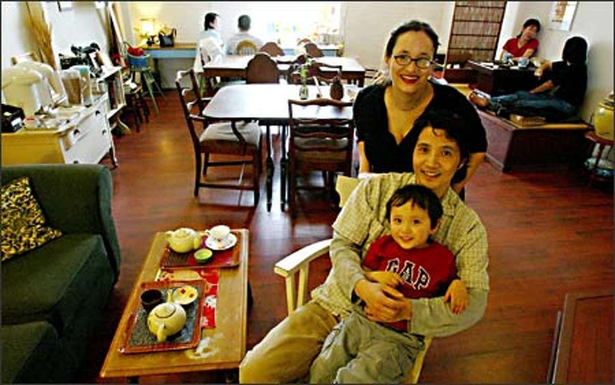 """Running Masalisa is a family affair, as was the plan. It lets Lisa Bosques and Masa Harima spend quality time with their 3-year-old son, Felix. """"I'm always thinking about being with my family,"""" Harima says."""