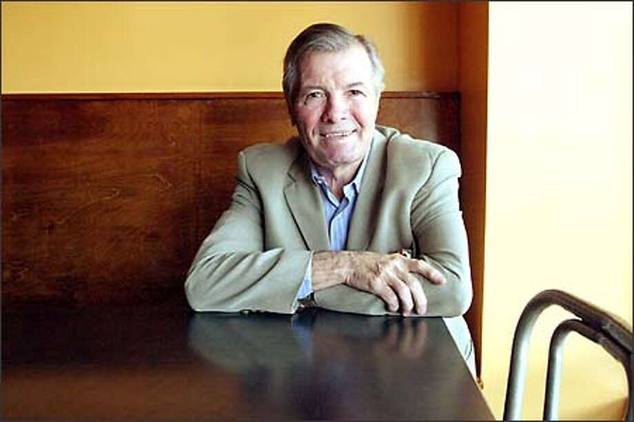 "Jacques Pépin once cooked for President Charles de Gaulle, and he later turned down a job as President Kennedy's White House chef to develop fast food for Howard Johnson restaurants. Pépin says he was predestined to become a chef: ""It was like blinders on a horse. I didn't know anything else."" Photo: Paul Joseph Brown, Seattle Post-Intelligencer / Seattle Post-Intelligencer"