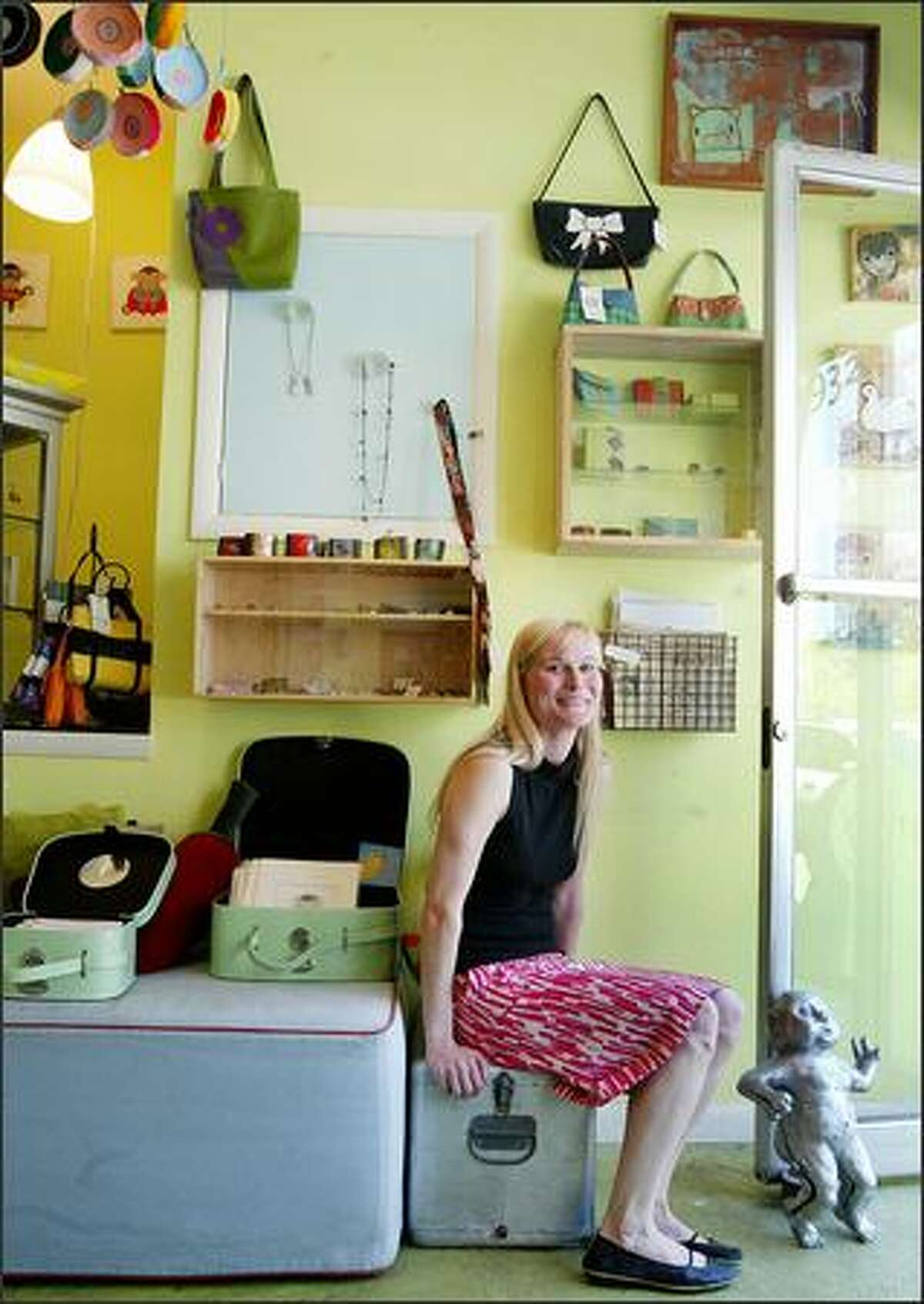 Sally Brock, the owner of Fancy on Second Avenue, persuaded friends to open Schmancy, and soon, Pants.