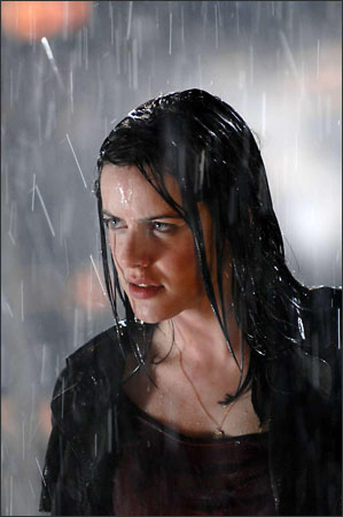 Michelle Ryan plays Jamie Sommers in NBC's