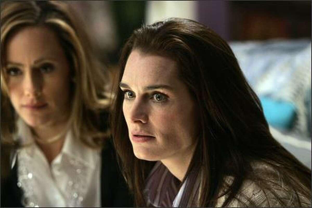 Kim Raver, left, co-stars with Brooke Shields in