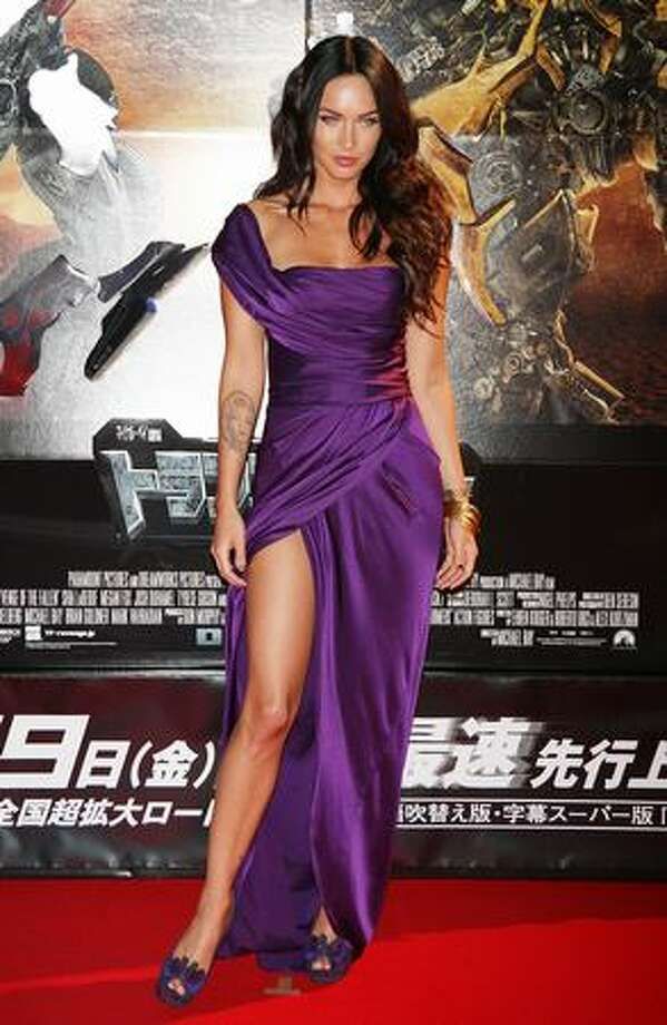 "Actress Megan Fox attends the ""Transformers: Revenge of the Fallen"" world premiere at Roppongi Hills in Tokyo on June 8, 2009. The film will open on June 19 in Japan. Photo: Getty Images / Getty Images"