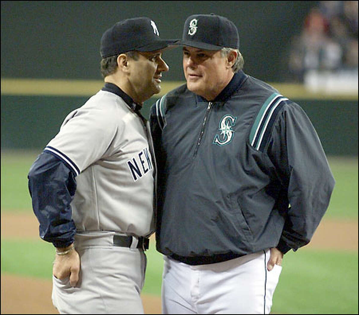 Yankees manager Joe Torre selected Mariners manager Lou Piniella to join him in the All-Star dugout for the second consecutive year. Piniella managed the NL All-Stars in 1991 and represented Kansas City as a player on the AL team in 1972.