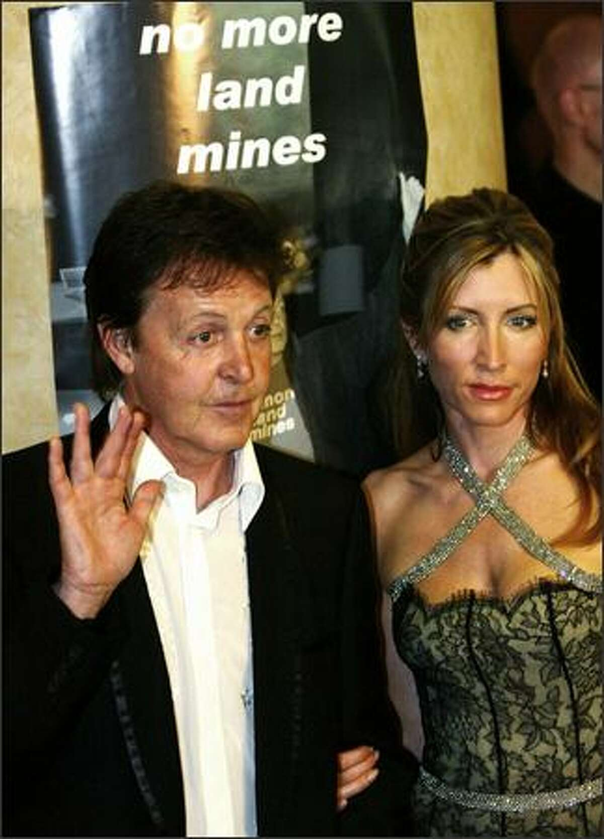 The Associated Press reports that Heather Mills McCartney (seen here last year with her soon to be ex, Sir Paul) said Tuesday that she plans to sue newspapers that have been digging into her past. The News of the World has run stories about Mills McCartney spending nights with wealthy men when she was in her 20s. For money, not love.