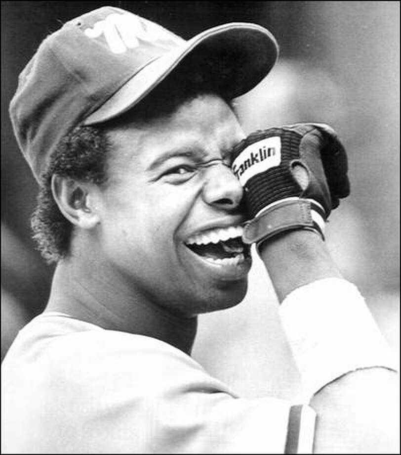 Fifteen years ago, Griffey, the first selection overall in the 1987 draft, was in Bellingham, playing Class A rookie ball for the Mariners. Photo: Associated Press / Associated Press