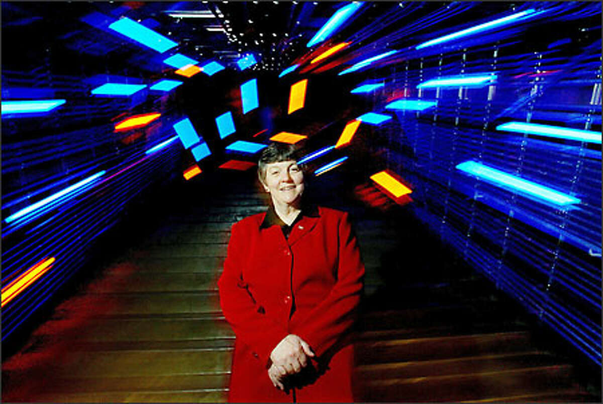 Former NASA executive Donna Shirley is director of the Science Fiction Museum.