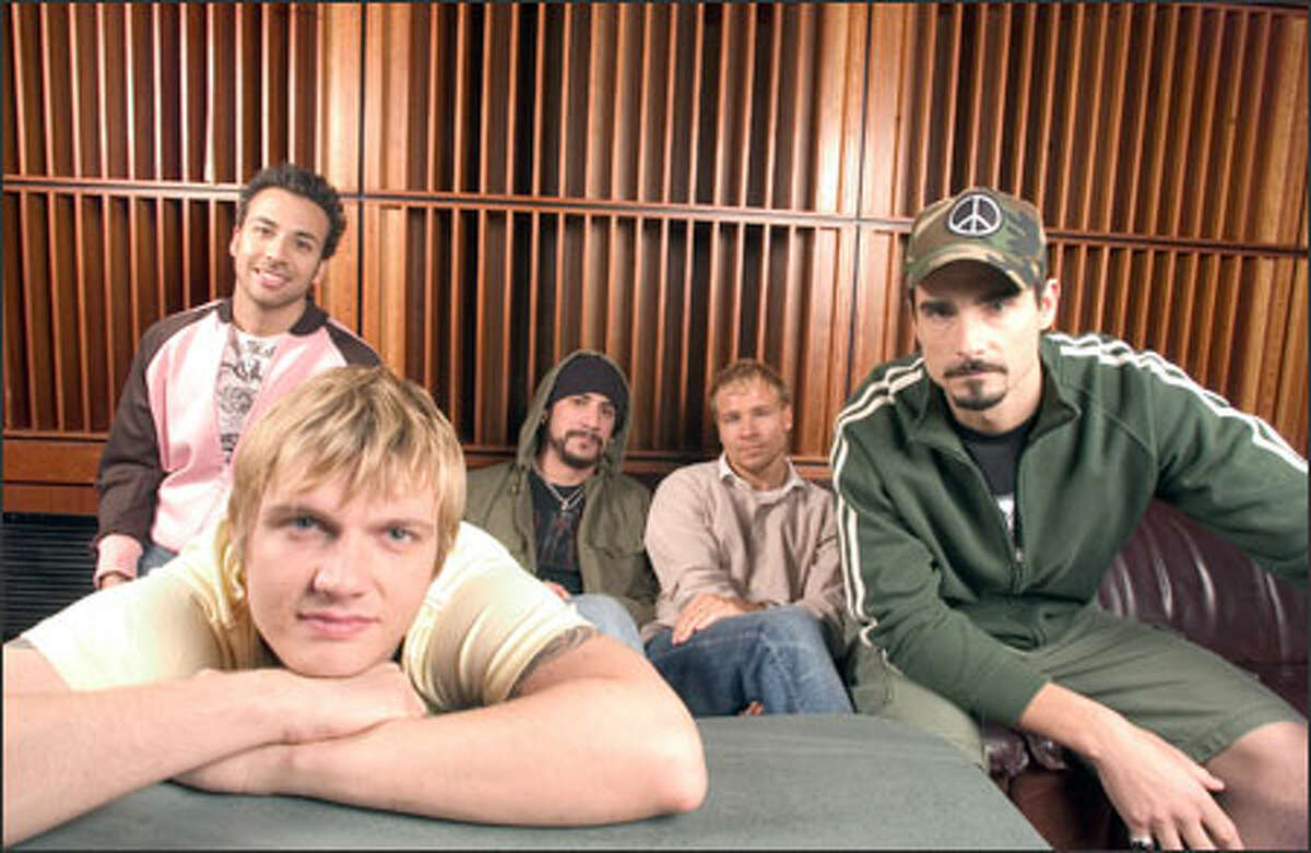 """The Backstreet Boys aren't afraid to push the fashion boundaries into """"gay vague"""" territory, where the desire to be stylish may be jamming """"gaydar."""""""