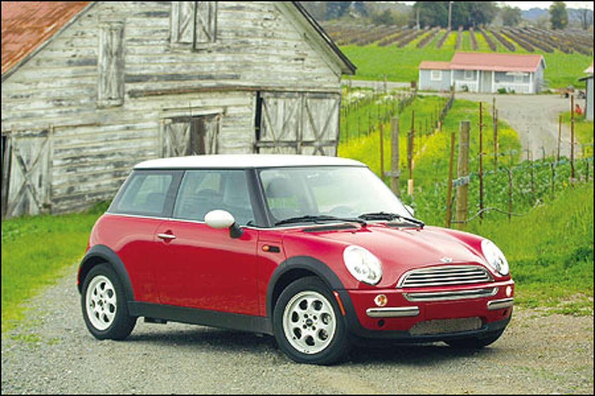 The 2002 Mini Cooper.