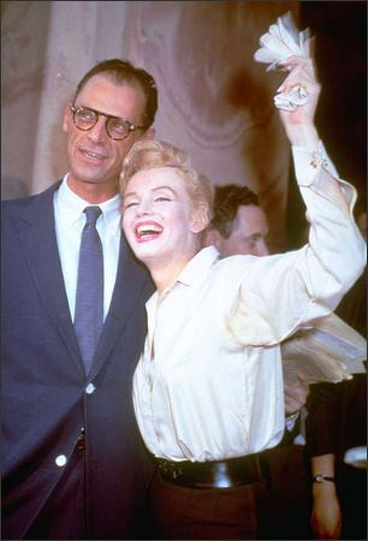 """When Marilyn Monroe and playwright Arthur Miller wed in 1956, the FBI was watching, according to FBI files obtained by The Associated Press. The FBI listed Miller as a Communist and Monroe as a """"drifter"""" into the Communist orbit. That kind of ill-informed, heavy-handed surveillance couldn't happen today, right?"""