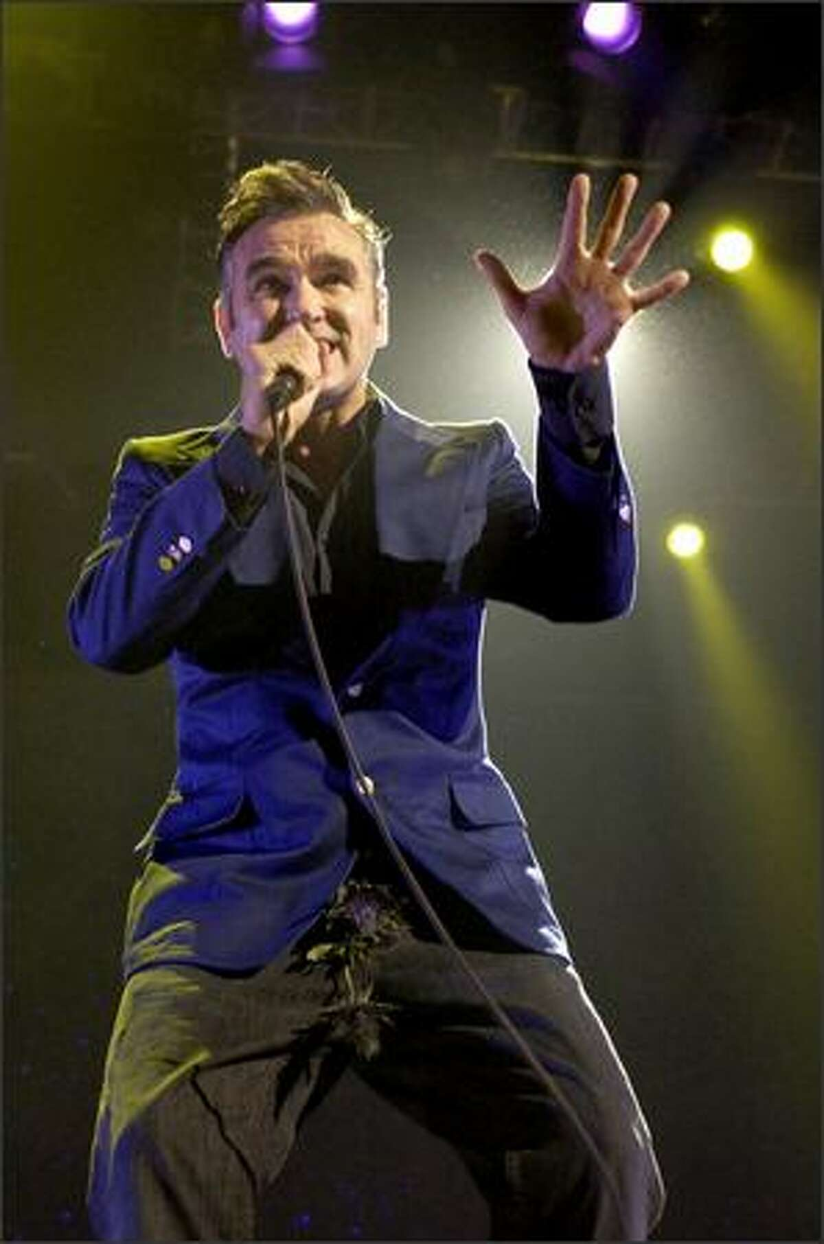 Lollapalooza organizers say not enough people were interested in seeing acts such as Morrissey, and canceled the entire tour claiming poor ticket sales.