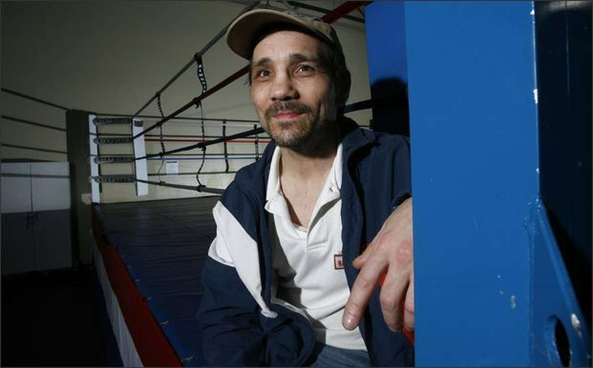 """Greg """"Mutt"""" Haugen currently trains young fighters at Vision Quest in the Auburn SuperMall, where he'll host a boxing fundraiser in August."""