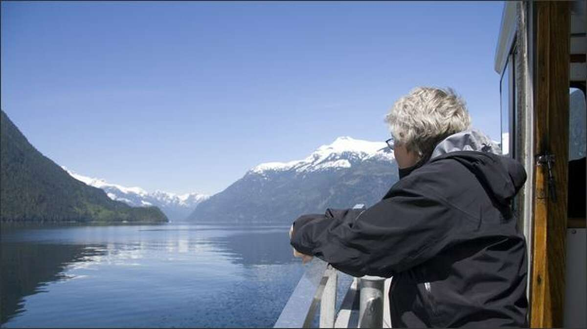 The cruise to Princess Louisa Inlet is gorgeous in itself.