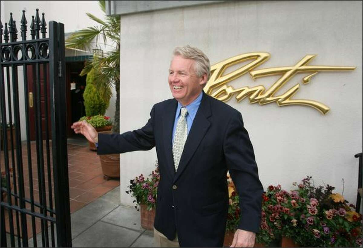 Richard Malia -- who owns the Ponti with his wife, Sharon -- has been in the restaurant business since the early '70s.